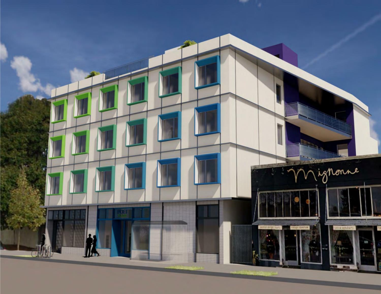 2435 San Pablo Avenue, rendering by Studio KDA