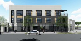 3204-3206 Broadway Street main view, rendering by HRGA Architecture