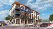 347 East 18th Street intersection view, rendering by Arris Studio Architects