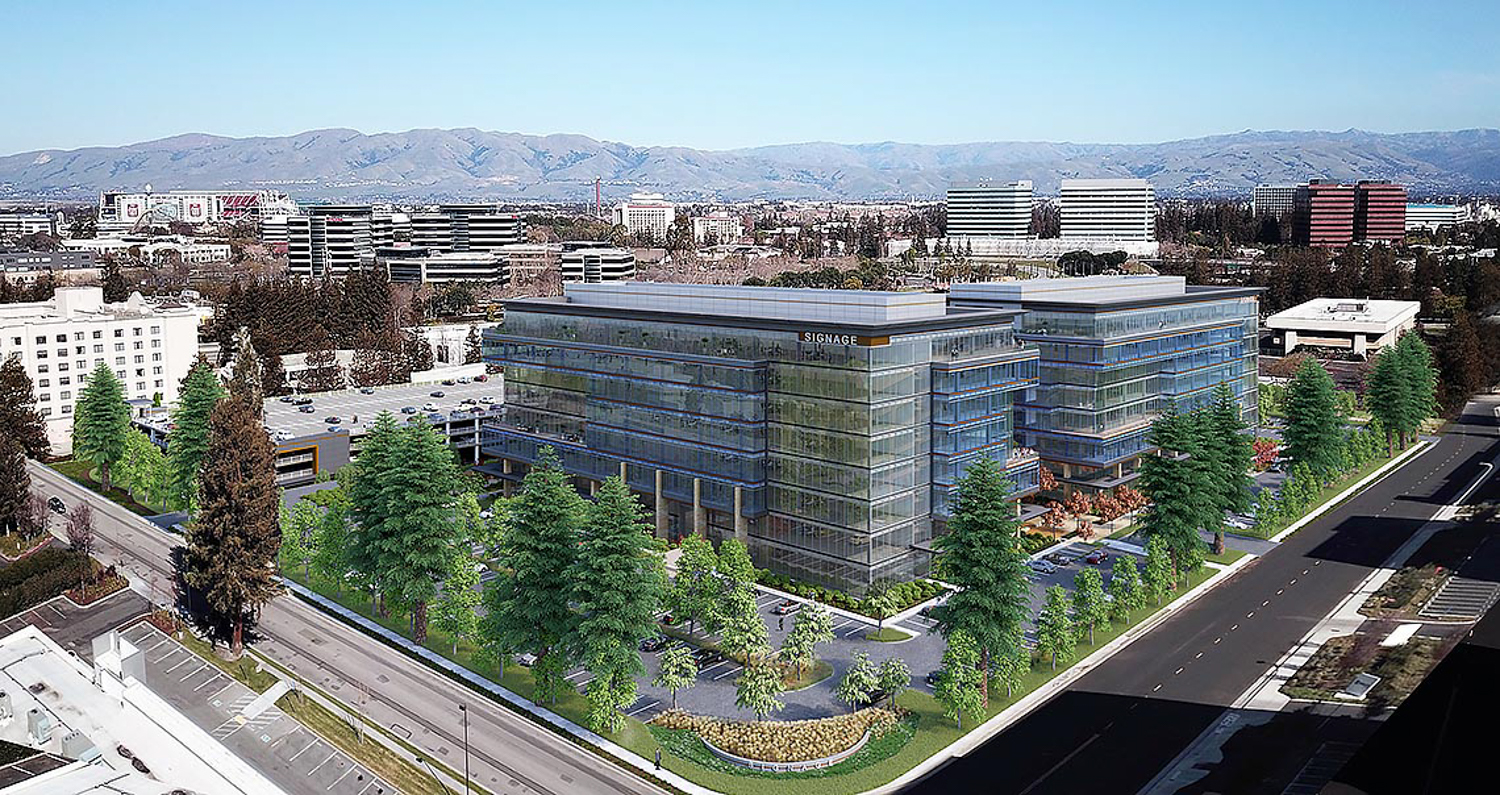 3625 Peterson Way aerial view, rendering by ARC Tech