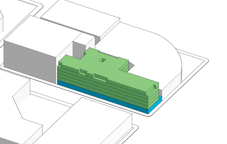 55 Francisco Street elevation, illustration from TEF Design
