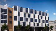 67-69 Belcher Street, rendering by Stanley Saitowitz | Natoma Architects