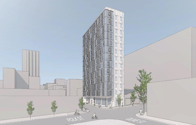 841 Polk Street, design by RG Architecture