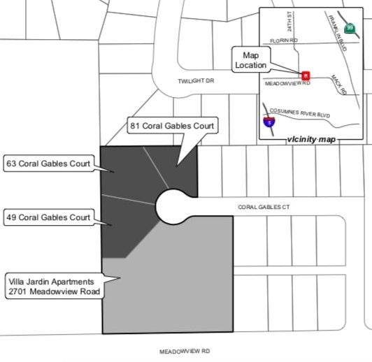 Coral Gables Court Site Plan