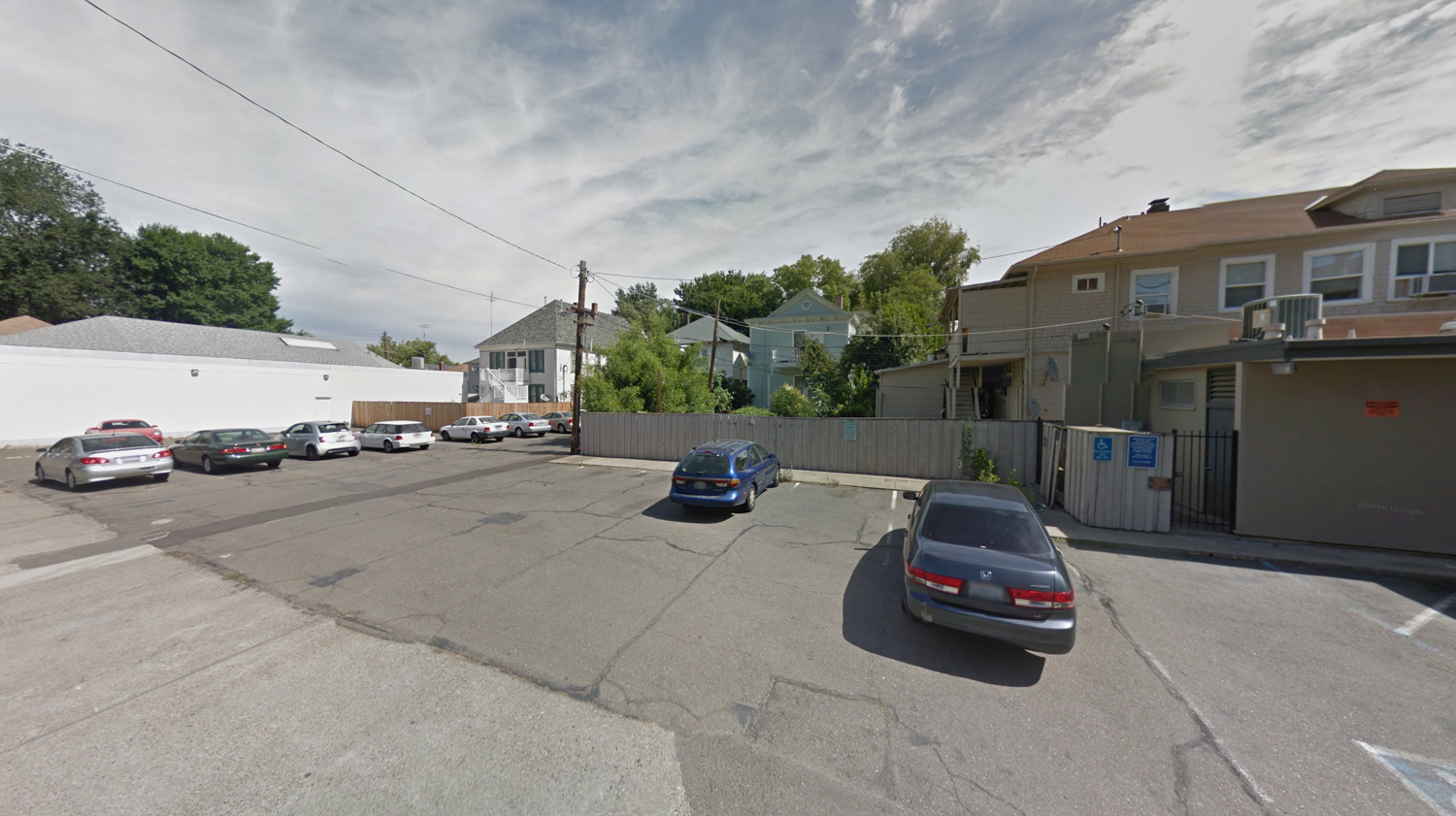 Tomato Alley infill in its existing condition, image via Google Street View