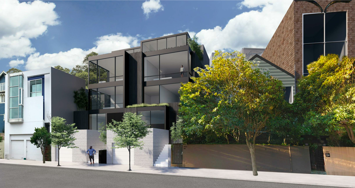 144 Laidley Street, rendering by EYRC Architects