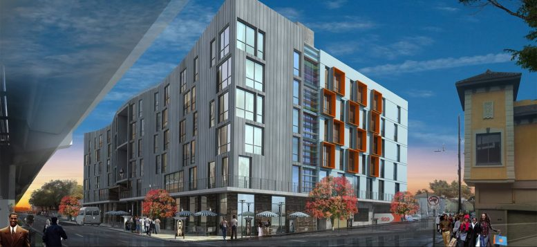 1666 7th Street, rendering by MWA Architects