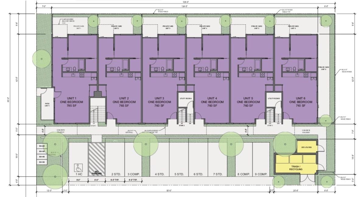 219-221 5th Street Ground Floor Plan
