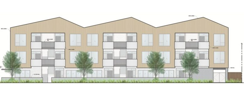 219-221 5th Street South Elevation