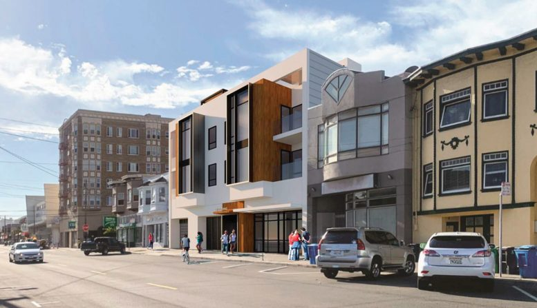 2513 Irving Street, rendering by LPAS Architecture + Design