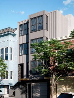 312 Utah Street, rendering by William Pashelinsky Architect