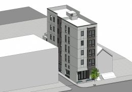 36 Gough Street front view, rendering by SIA Consulting