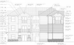 4421 4th Avenue elevation, illustration by Infinity Design