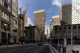525 Market Street from across the moth-balled Oceanwide Center construction site, image by Andrew Campbell Nelson