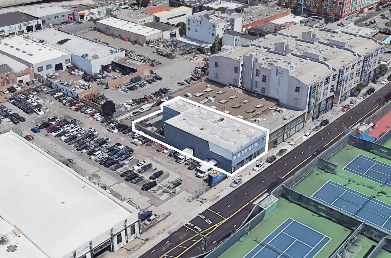 560 Brannan Street, image via Google Satellite