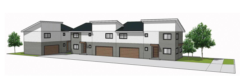 6225 Harmon Avenue development, rendering by Phan Designs