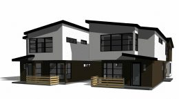 684 Fairmount Avenue multi-family development, rendering by Domum