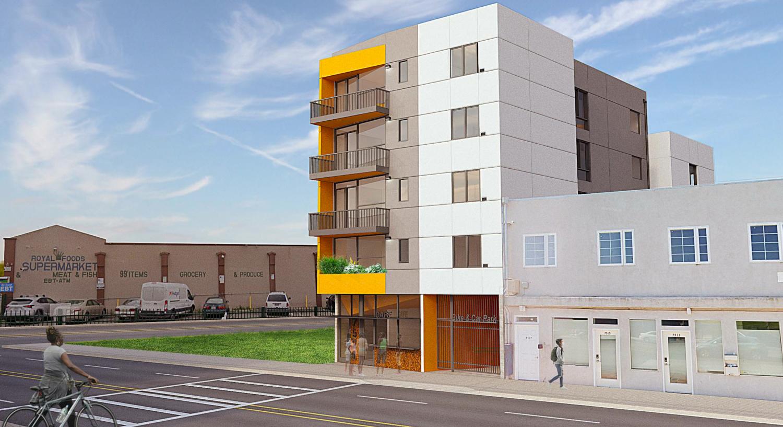 7521 MacArthur Boulevard, rendering by Devi Dutta Architecture