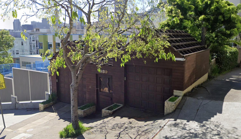 939 Lombard Street, image via Google Street View