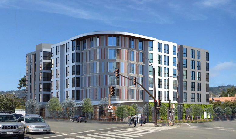 Maudelle at 2001 Ashby Street, rendering courtesy RCD Housing