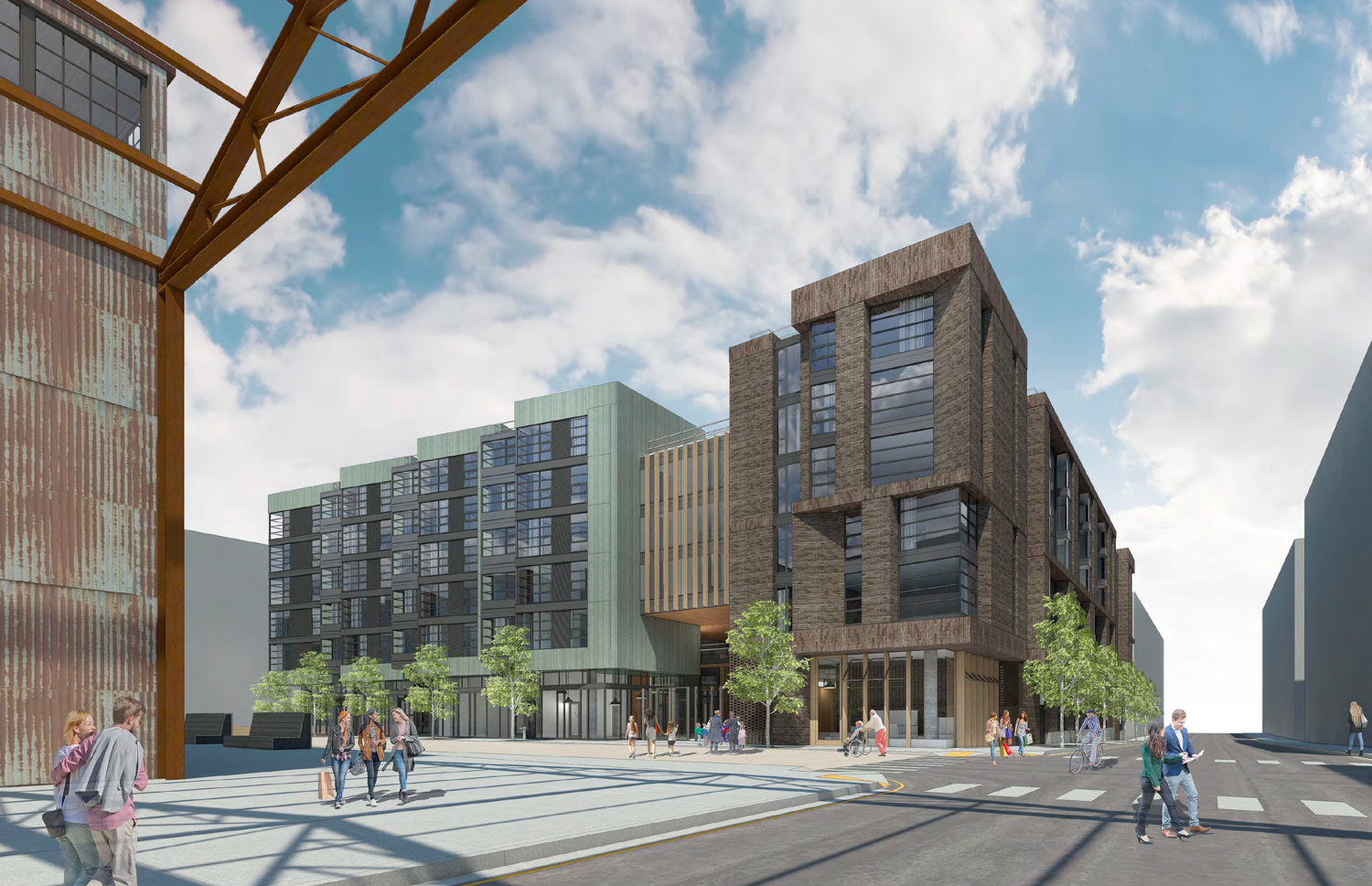 Pier 70 Parcel E2, design by Kennerly Architecture and Planning