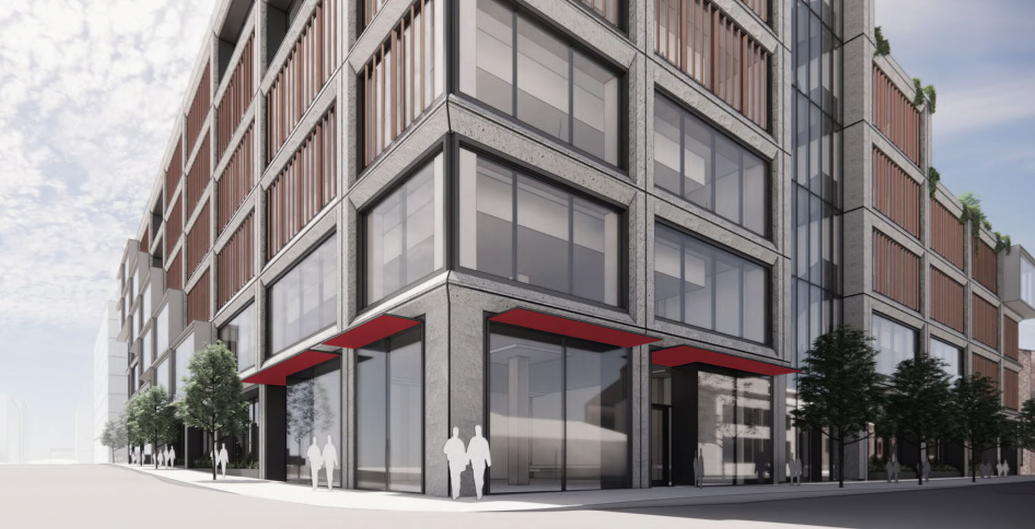 Pier 70's Parcel A at 88 Maryland Street street view, design by DES and Grimshaw