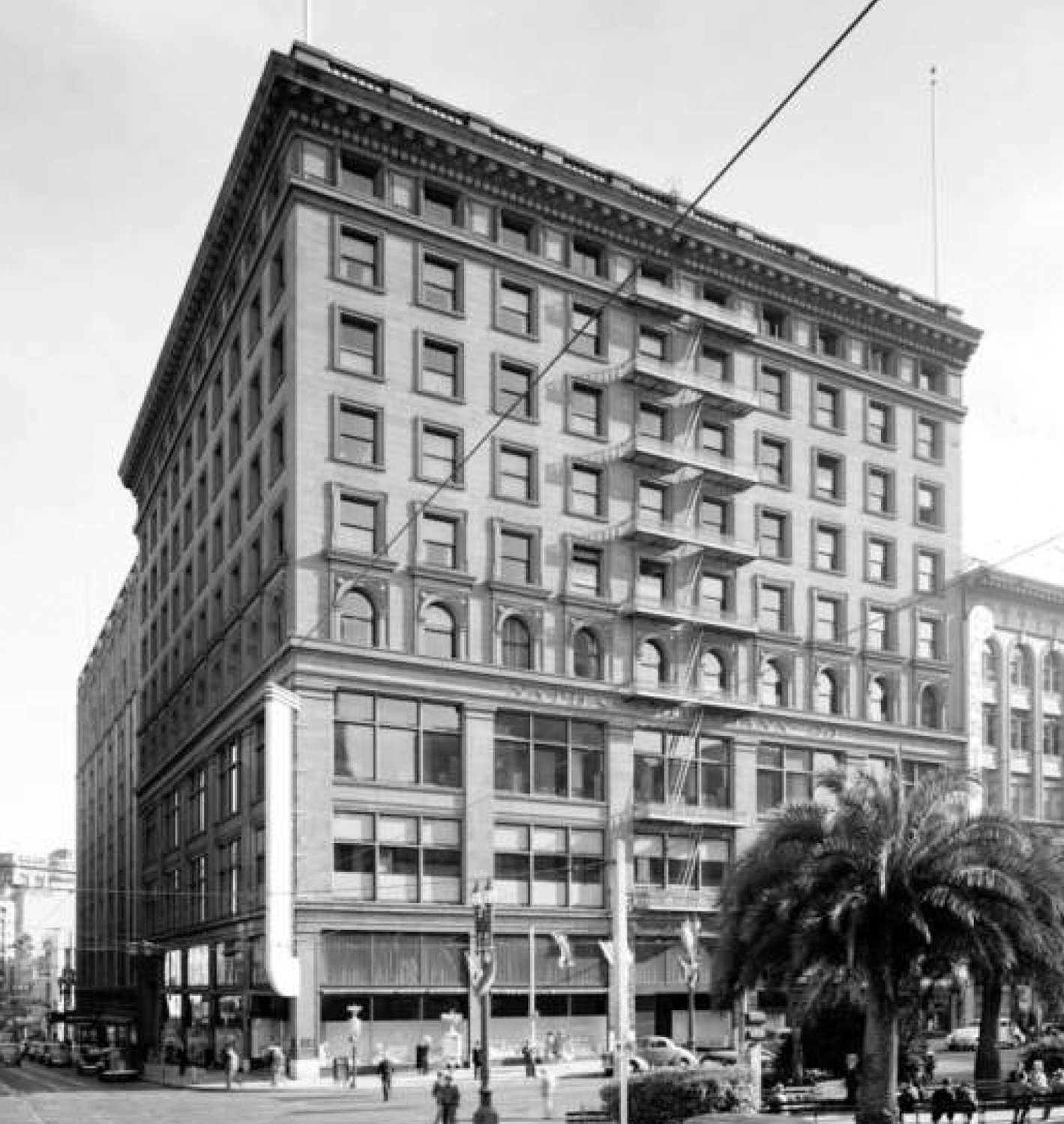 The Butler Building at 233 Geary, image via Handel Architects