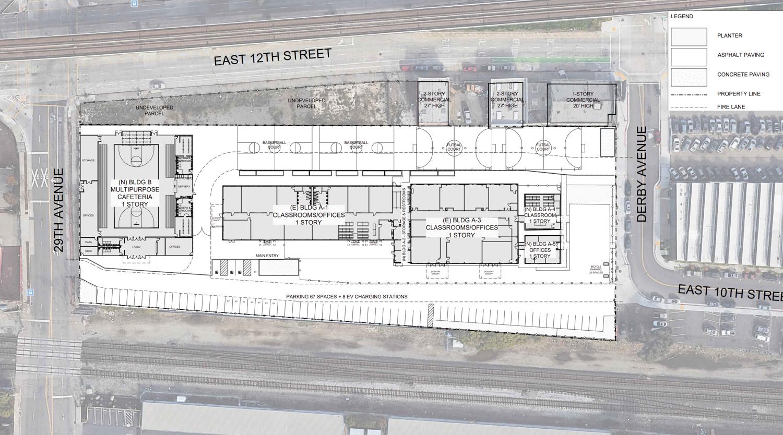 1045 Derby Avenue final site plan map, illustration by Artik Art & Architecture