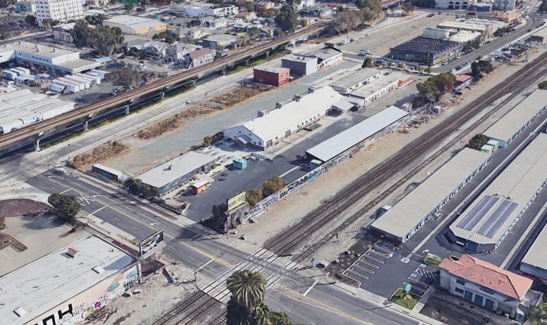 1045 Derby Avenue, image via Google Satellite
