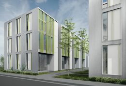 21st and Broadway rendering, design by Johnsen Schmaling Architects