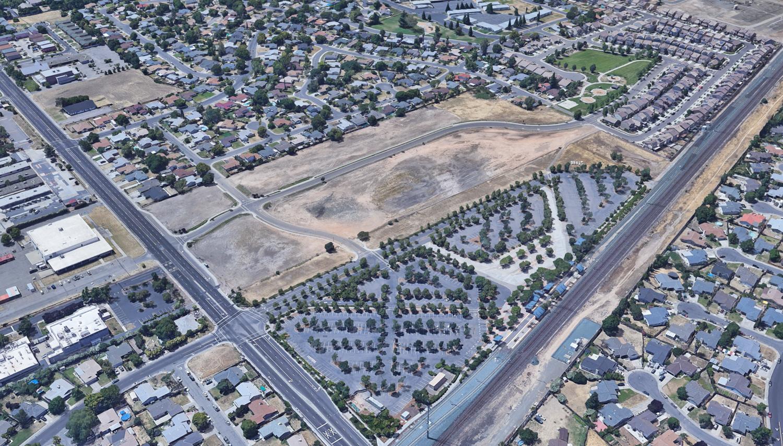 7543 Wainscott Way, image via Google Satellite
