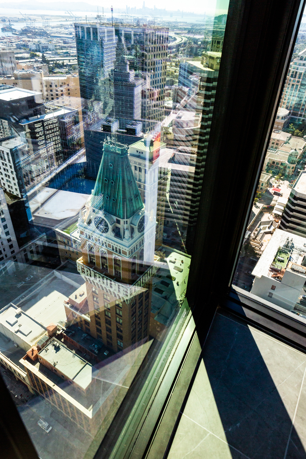 Tribune Tower viewed from the Atlas at 385 14th Street, image by Andrew Campbell Nelson
