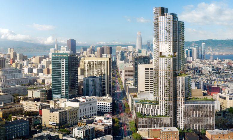 10 South Van Ness Avenue, image via Crescent Heights