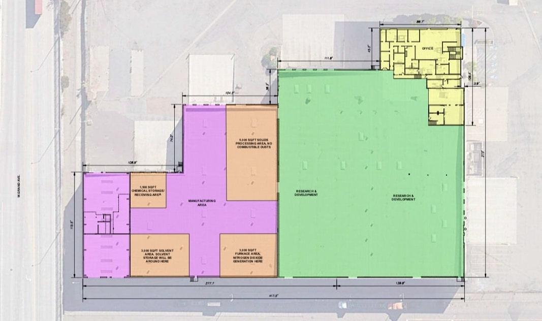 1700 20th Street Plan