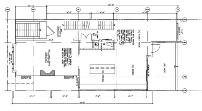 1902 Webster Street First Floor Plan