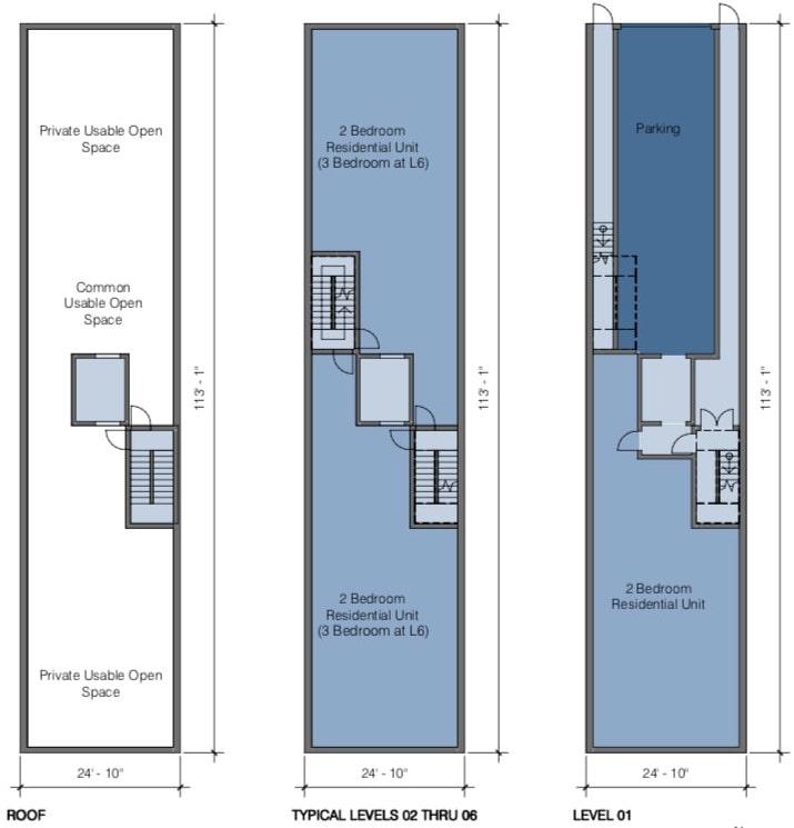 2083 Ellis Street Floor Plans