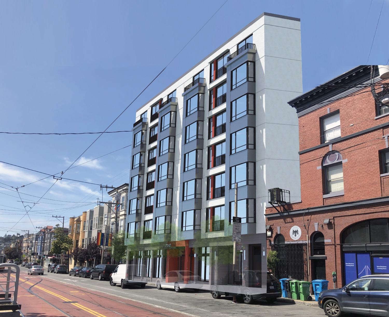 240-250 Church Street, design by Schaub Ly Architects