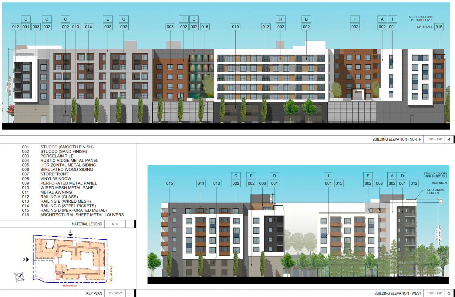 30 Ingold Road vertical elevation, design by Studio T Square