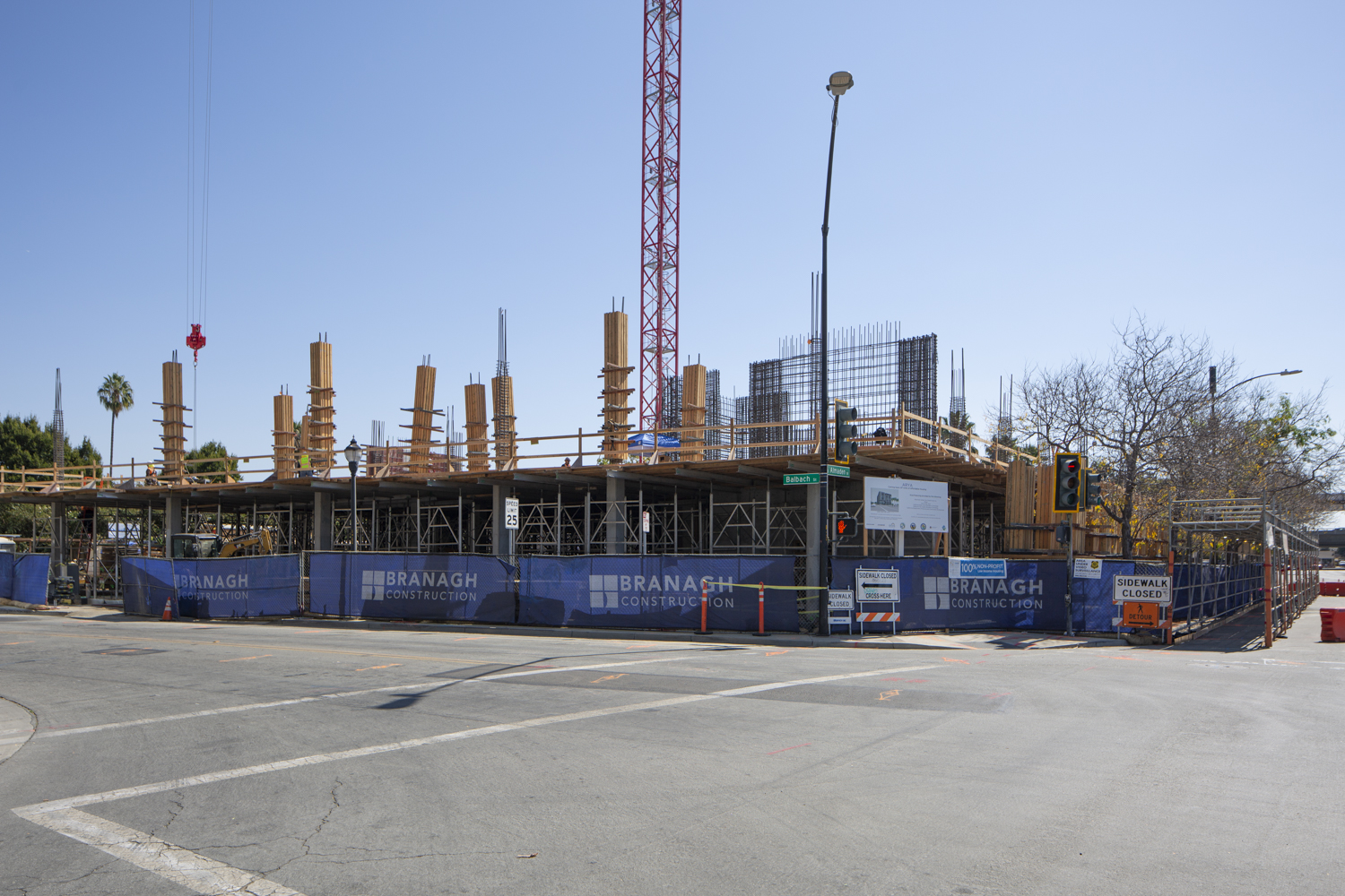 500 Almaden Boulevard construction close up, image by Andrew Campbell Nelson