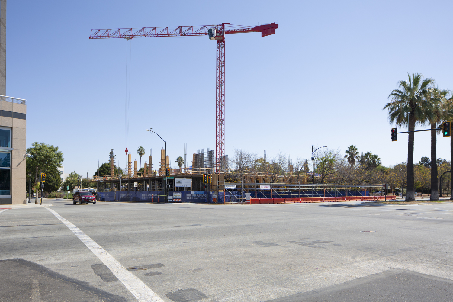 500 Almaden Boulevard construction update, image by Andrew Campbell Nelson