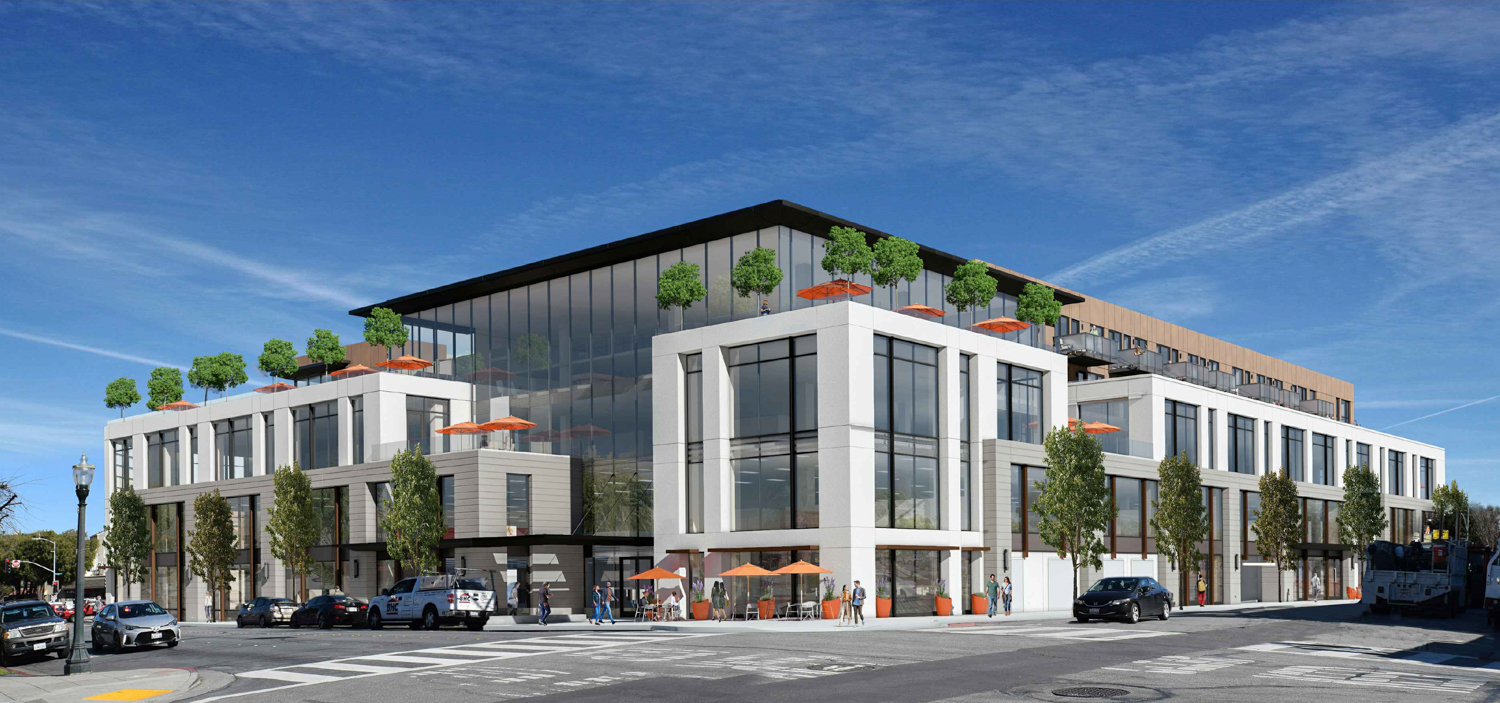 500 East 3rd Avenue from 3rd and South Claremont Street, rendering by Arc Tec