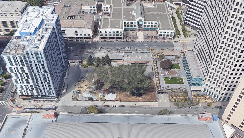 520 11th Street, image via Google Satellite