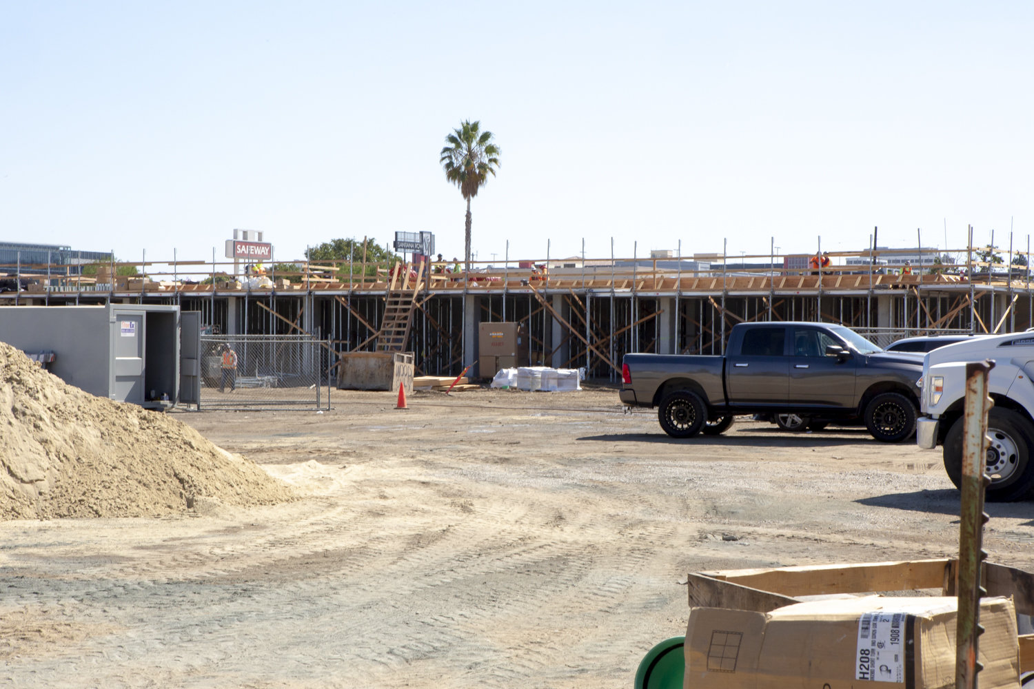Santa Clara Agrihood construction update, image by Andrew Campbell Nelson