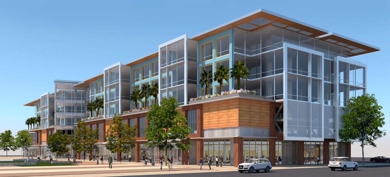 Gateway at Millbrae Station Parcel 5A office Building, design by Form4