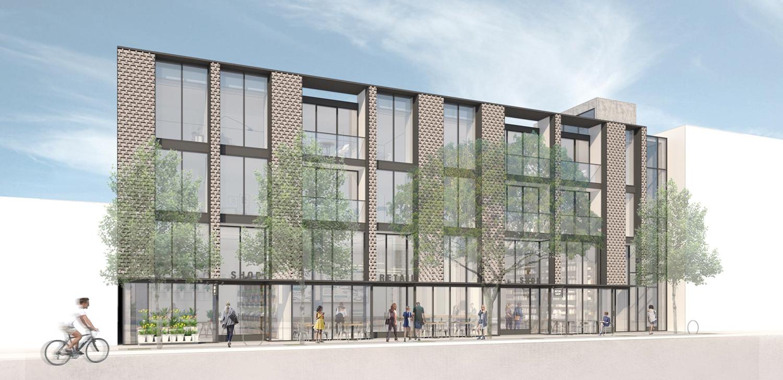 2055 Chestnut Street, rendering by Jensen Architects