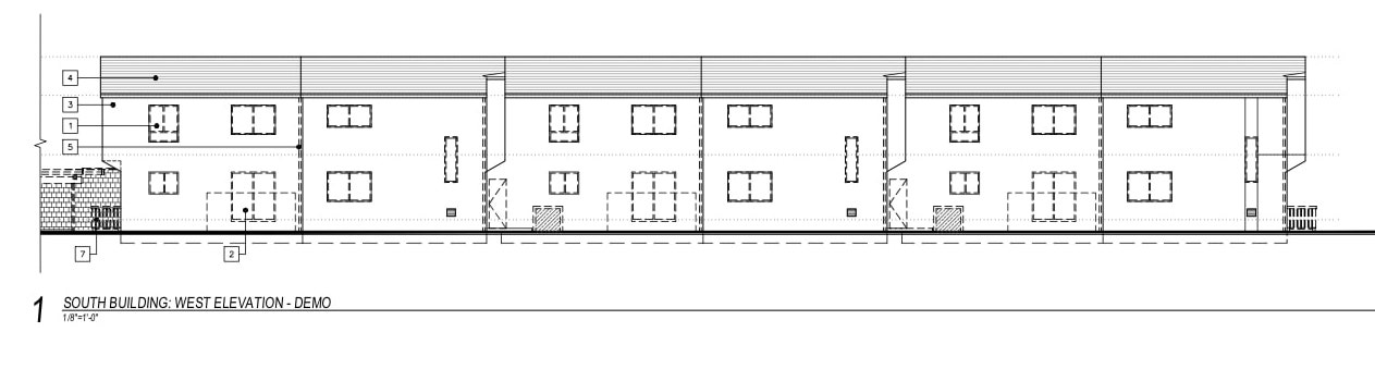 2206 Great Highway South Building Elevation
