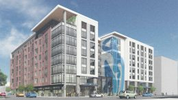 2600 Telegraph Avenue perspective, rendering by BAR Architects