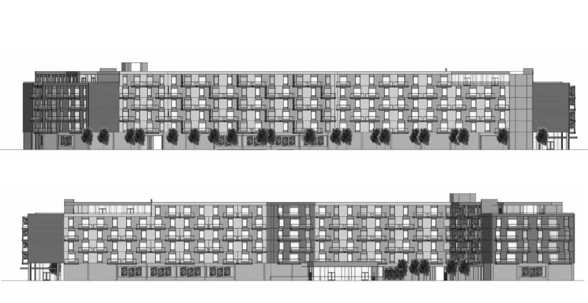 300 Mosley Avenue Elevations