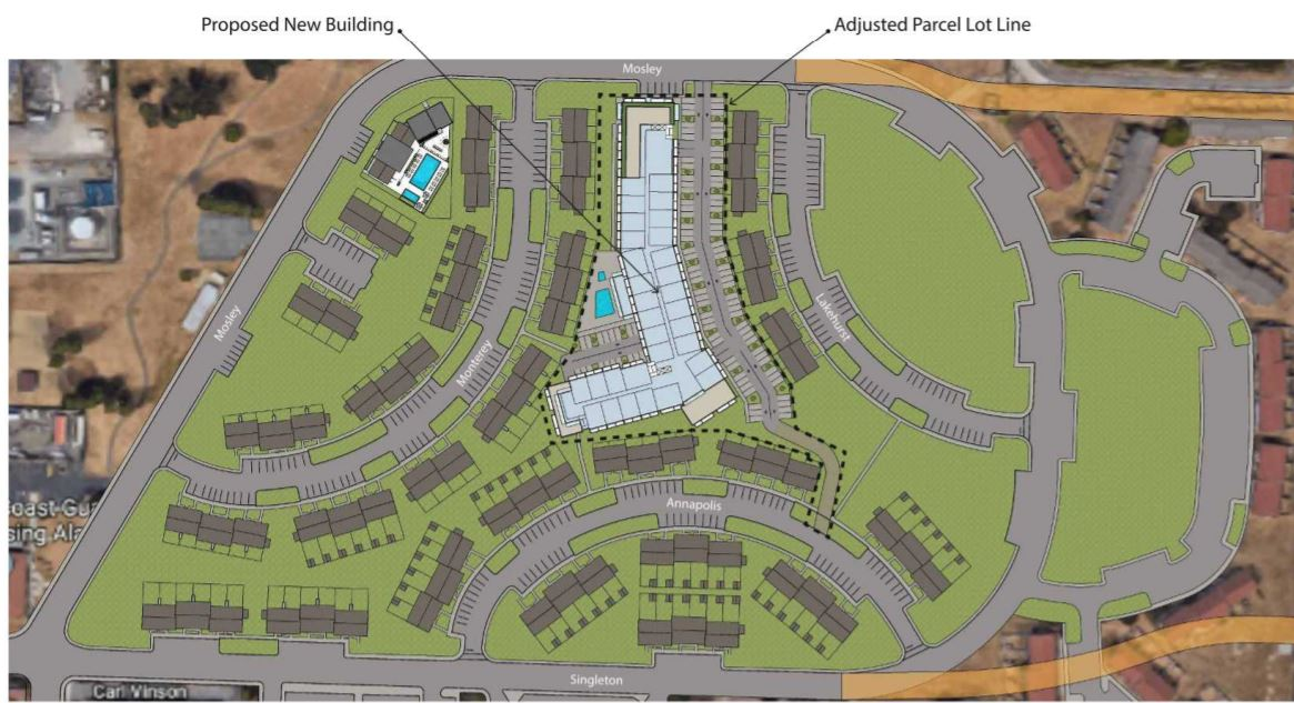 300 Mosley Avenue Site Plan