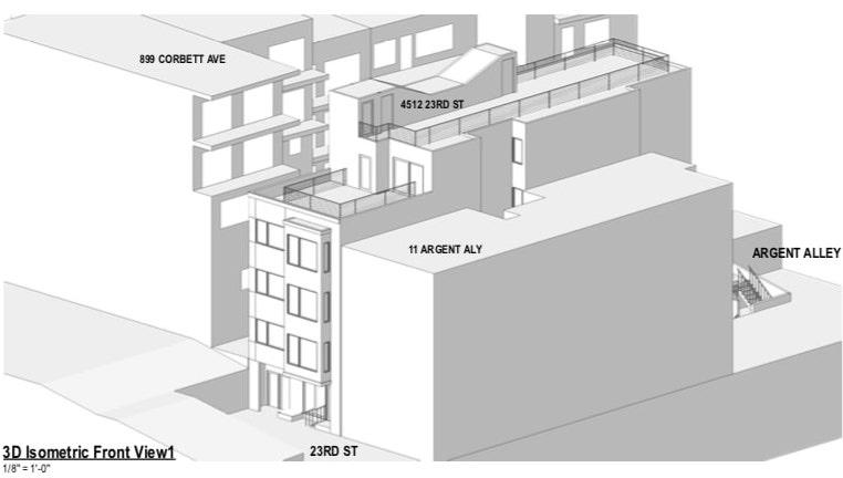 4512 23rd Street Isometric View